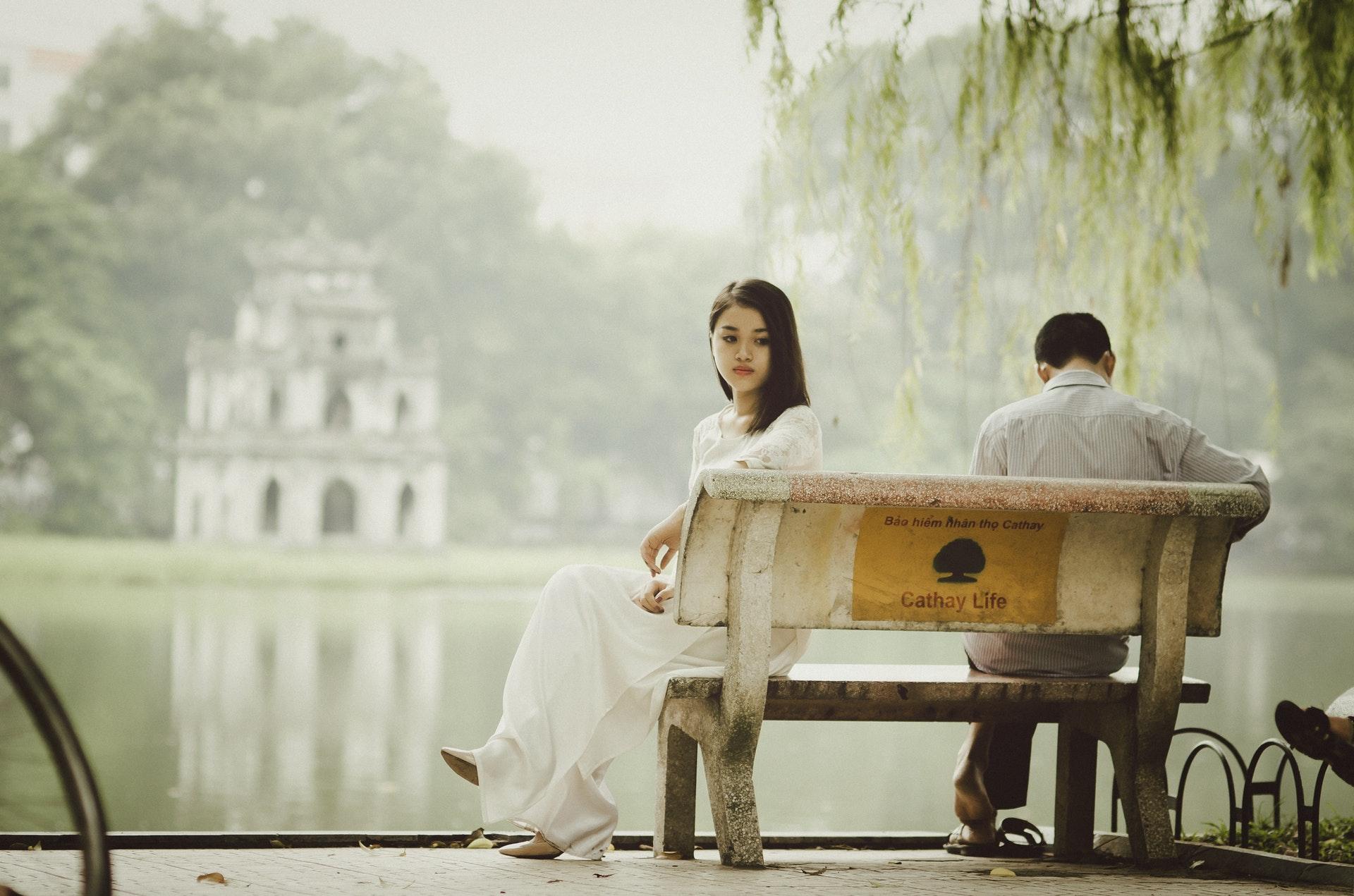 couple discutant sur prestation compensatoire
